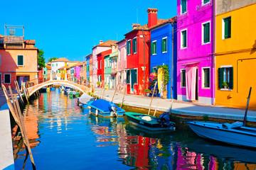 Burano bei Venedig, Italien