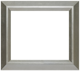Modern Silver Wood Picture Frame