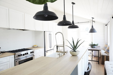 Modern design farmhouse kitchen