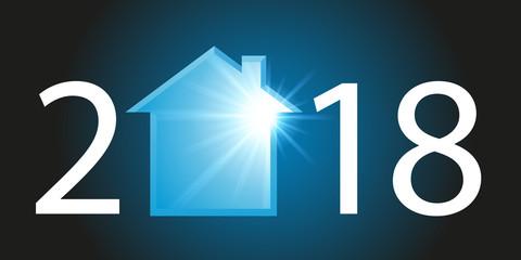 2018 - immobilier - maison - crédit - acheter - année - investissement - construction