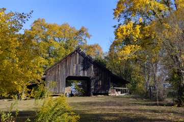 Barn in Golden North Arkansas