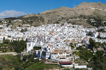 Typical white Andalusian village