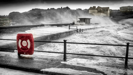 Storm at Freshwater Bay, Isle of Wight