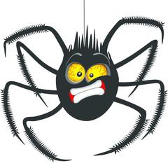 Garden Poster Draw Spider