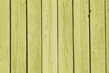 Yellow color wood fence pattern.