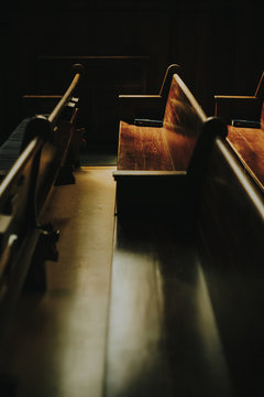 Light on Church Pews