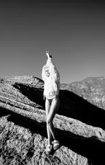 Mountains girl.