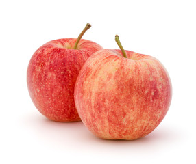 Fototapete - Red apple isolated on white background cutout