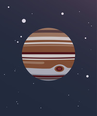 Jupiter Illustration