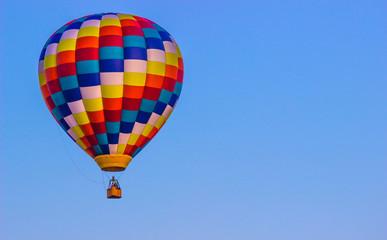 Bright Multi Colored Hot Air Balloon