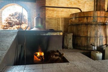 Mezcal Distillery in Oaxaca, Mexico