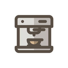 Coffee Filled - Espresso Machine Icon