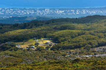 Picnic site of Le Maido at Reunion Island