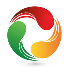 Logo business around world