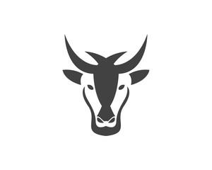 Goat Head Logo Design template