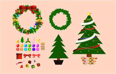 クリスマス飾りキット・セット