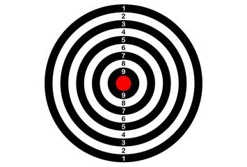 target ( back Darts)