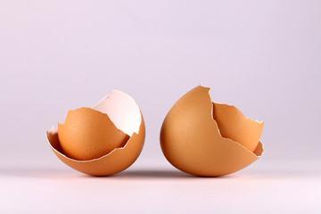 Bruine eierschalen