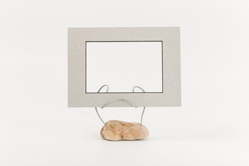 art stand for photo from sea stone