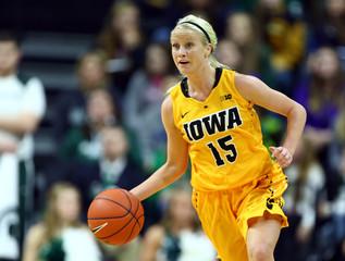 NCAA Womens Basketball: Iowa at Michigan State