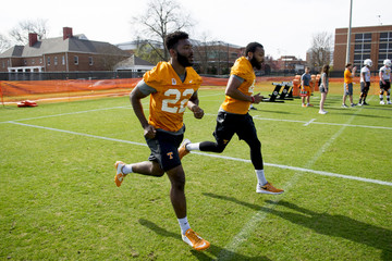NCAA Football: Tennessee Volunteers football practice