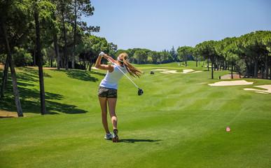 Algarve Golf Girl