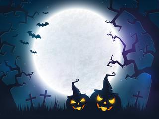 Halloween spooky background.