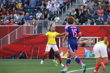 Soccer: Women's World Cup-Ecuador at Japan