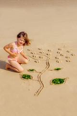 jeune artiste en herbe