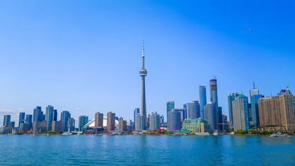 Tuinposter Toronto Visiting Toronto in Ontario