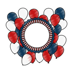united states of america balloons air