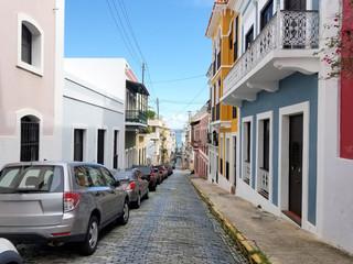 Old town San Juan, Puerto Rico.