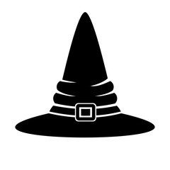 witch hat icon isolated