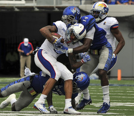 NCAA Football: Kansas at Memphis