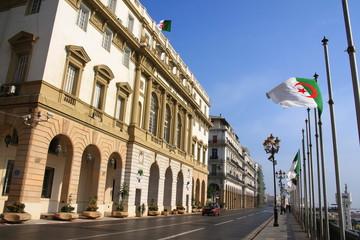 Tuinposter Algerije Style architectural de la ville d'Alger, Algérie