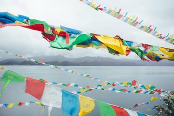 Lugu lake in Yunnan Province,China