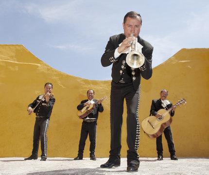 Mariachi Band. Mexico
