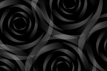 dark backround or frame with rose like shadows
