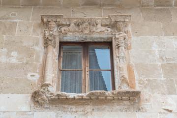 Fenster Mit Antikem Rahmen