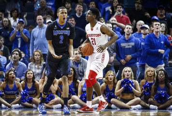 NCAA Basketball: Houston at Memphis