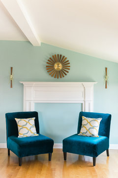 Modern sitting room.