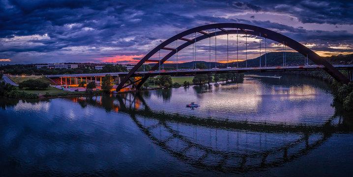 Pennybacker Bridge in Austin, Texas