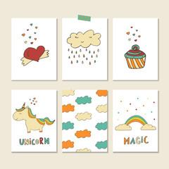 Unicorn patch badges