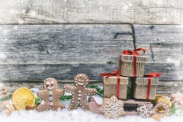 Christmas bakery deco