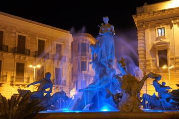 Piazza Archimede Siracusa Fototapete