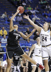NCAA Womens Basketball: NCAA Tournament-Lexington Regional-Notre Dame vs Stanford