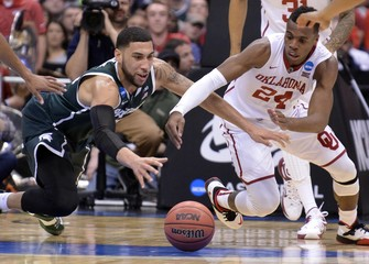 NCAA Basketball: NCAA Tournament-East Regional-Oklahoma vs Michigan State