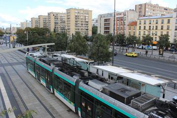 Paris - Station de Tramway