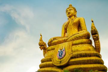 Big Buddha statue on the island of Phuket, Thailand