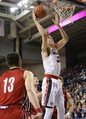 NCAA Basketball: South Dakota at Gonzaga